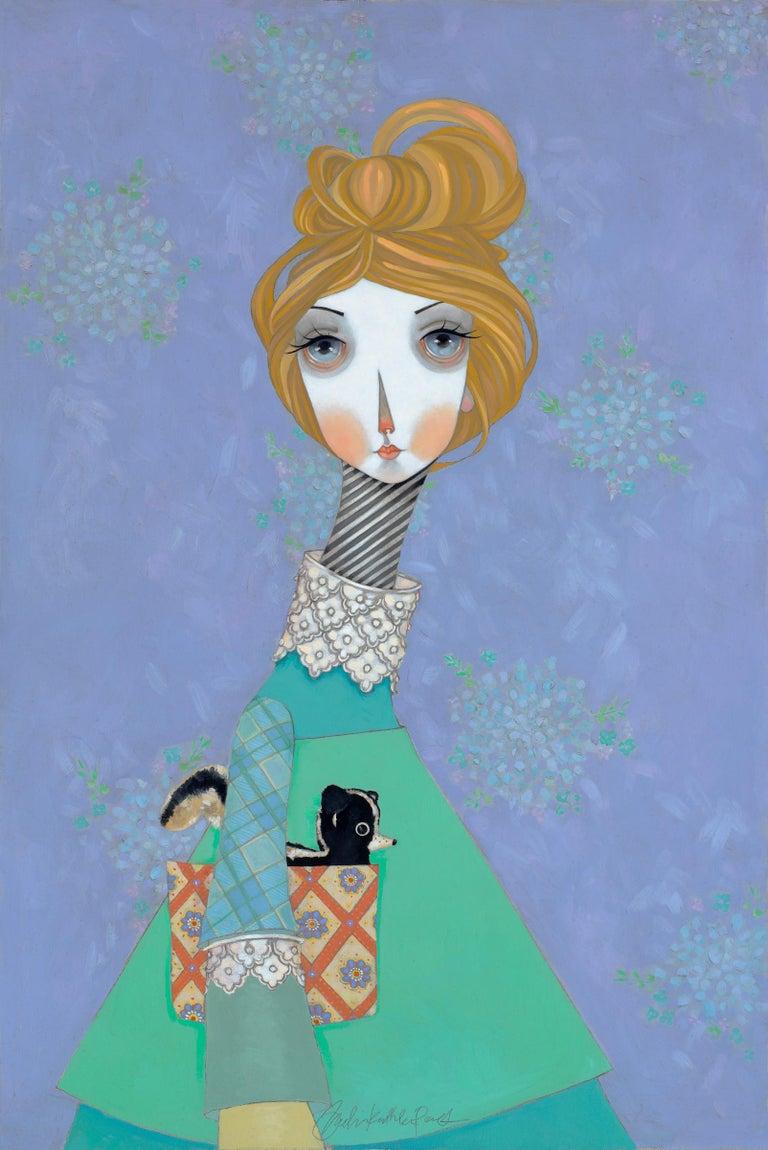 """Melissa Peck Figurative Painting - """"Franki"""""""