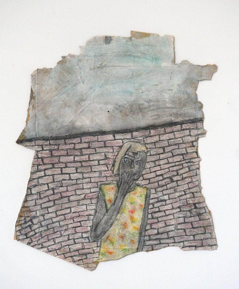 Melissa Stern, Secrets, Pastel, pencil, 2014 - Sculpture by Melissa Stern