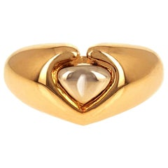 Made in France, Mellerio 1970s Gold Heart Ring