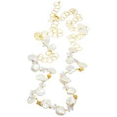 Melody Chain White Pearl Necklette