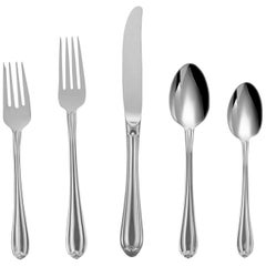 Melon Bud by Gorham Stainless Steel Flatware Set Service for 12 New 60 Pcs Shiny