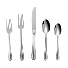 Melon Bud by Gorham Stainless Steel Flatware Set Service for 8 New 40 Pcs Shiny