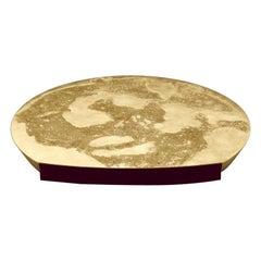 Mélos Coffee Table Brass by Aro Vega for Monogram