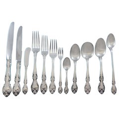 Melrose by Gorham Sterling Silver Flatware Set 12 Service 225 Pieces Dinner Size