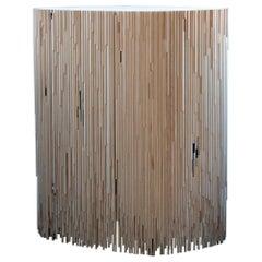MELT Cabinet in untreated pine by Antrei Hartikainen