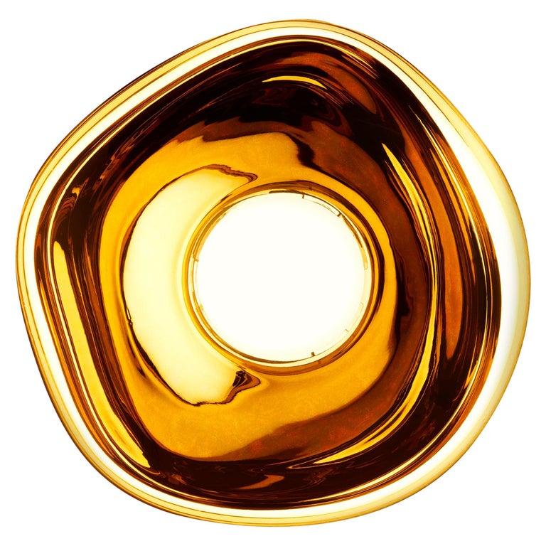 For Sale: Gold (melt gold.jpg) Melt LED Surface Light by Tom Dixon