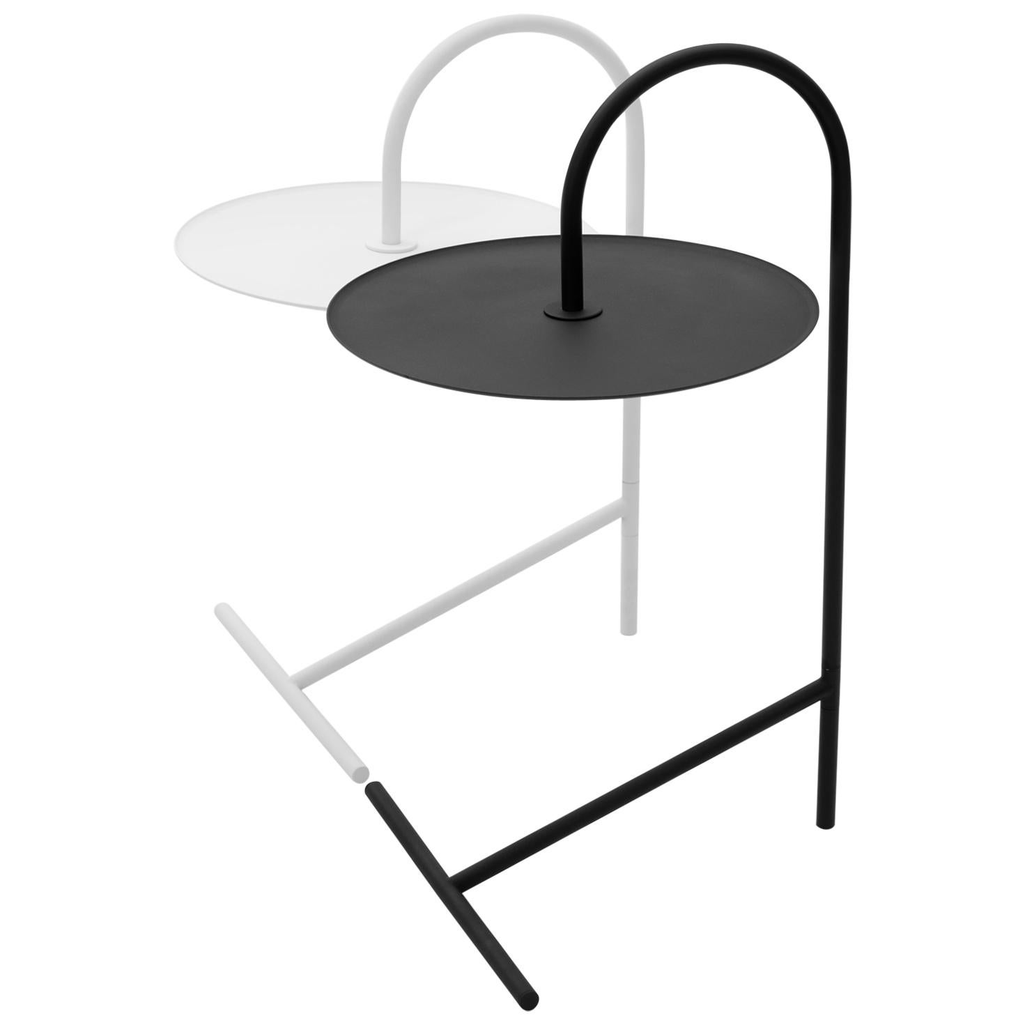 Melt Set, Minimalistic Steel Side Coffee Tables by Oitoproducts