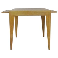 Melvin Dwork Designed Bleached Mahogany Side Table