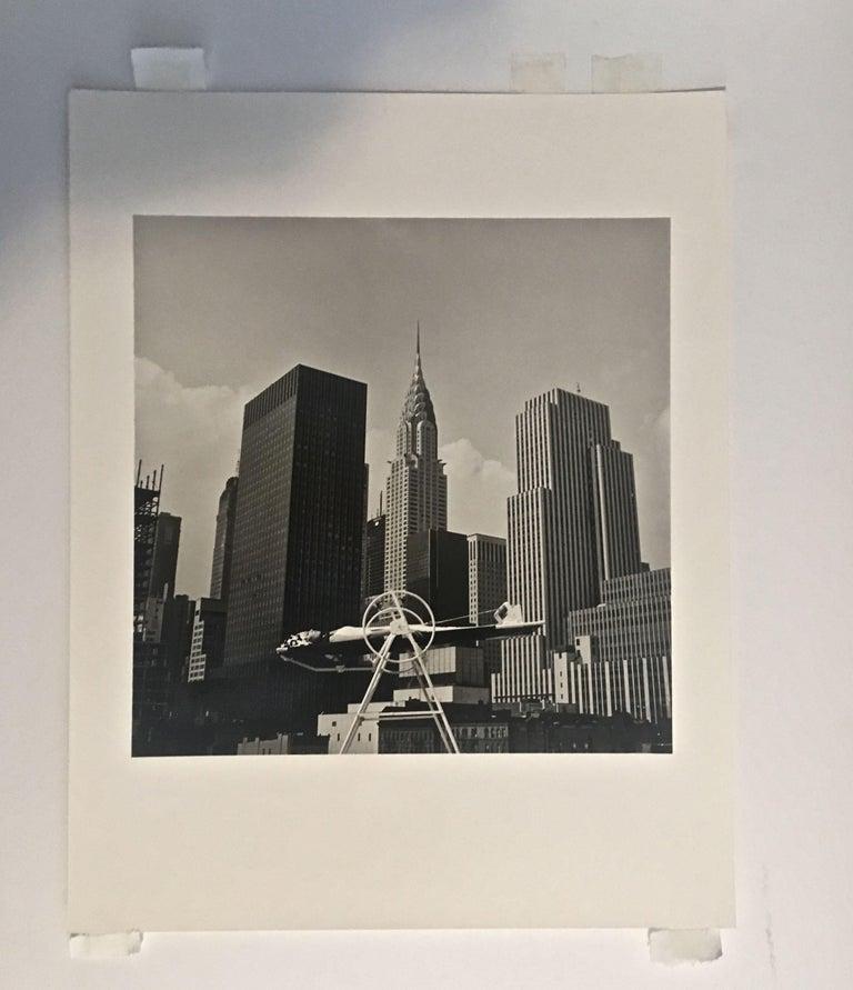 ANKA YOGA WHEEL - VINTAGE PHOTOGRAPH - BLACK & WHITE PHOTOGRAPHY - Pop Art Photograph by Melvin Sokolsky