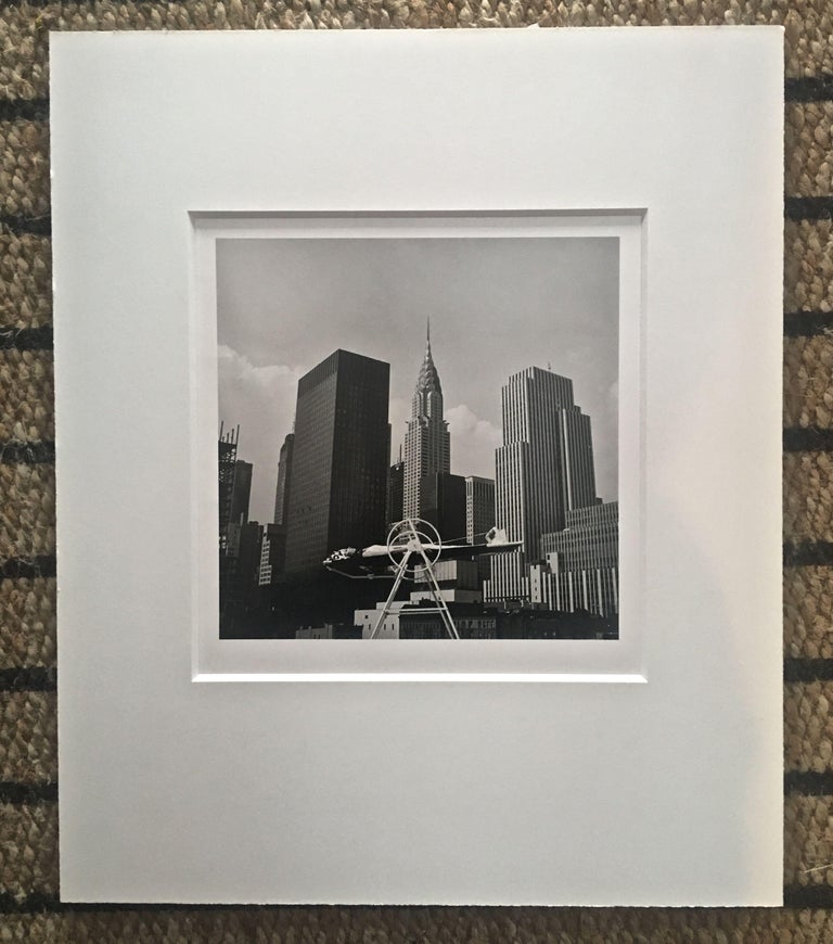 ANKA YOGA WHEEL - VINTAGE PHOTOGRAPH - BLACK & WHITE PHOTOGRAPHY - Gray Black and White Photograph by Melvin Sokolsky