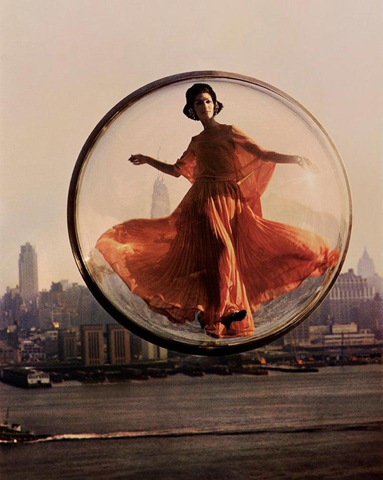Melvin Sokolsky Color Photograph - Over New York