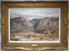 Searching For Greener Pasture Chisos Mountains (Big Bend) Texas Native American