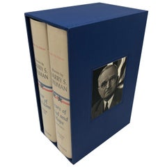 Harry Truman's Memoirs, Signed and Inscribed, Special Kansas City Edition, 1956
