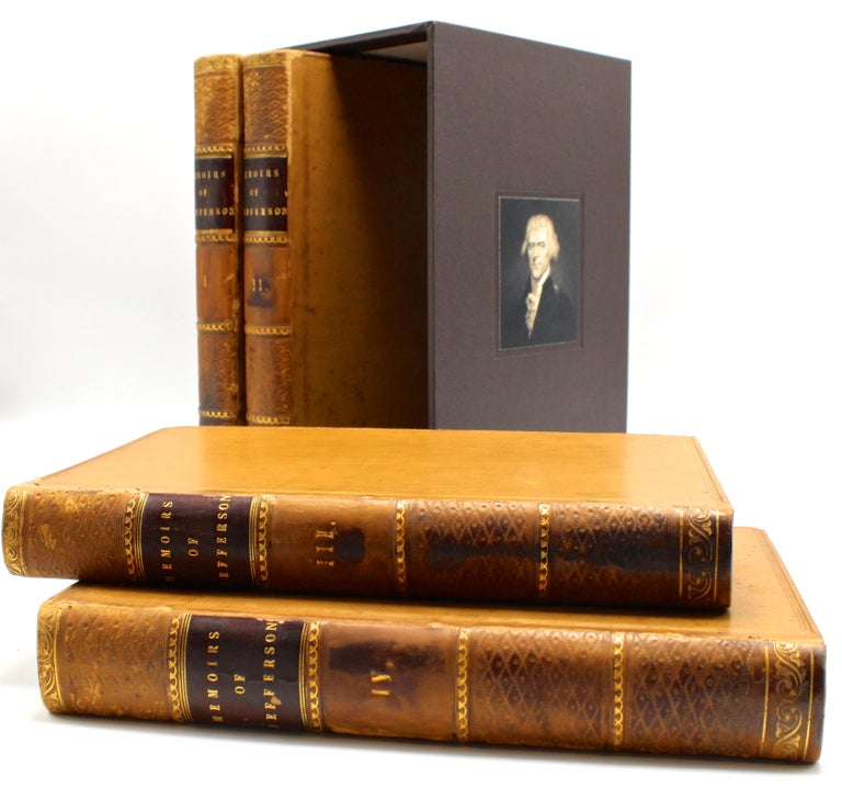19th Century Thomas Jefferson's Memoirs, First Edition, 4 Vols., 1829 For Sale