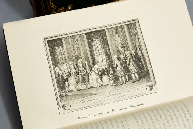 Jeanne L.H. Campan, Memoirs Of The Private Life of Marie Antoinette In Good Condition For Sale In New York, NY