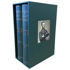 "Memoirs of William T. Sherman, 2-Volume ""Shoulder Strap"" Edition, 1891"