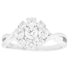 Memorie Diamond-Set Gold Ring