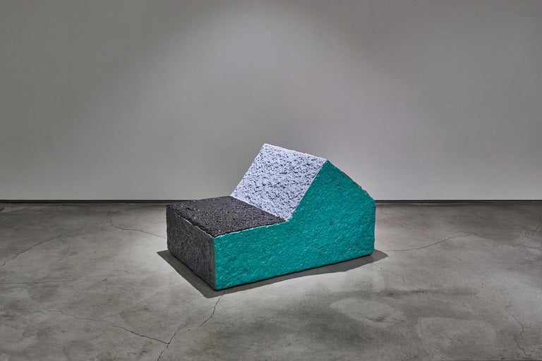 Sang Hoon Kim memory foam chair, 2018, offered by Cristina Grajales Gallery