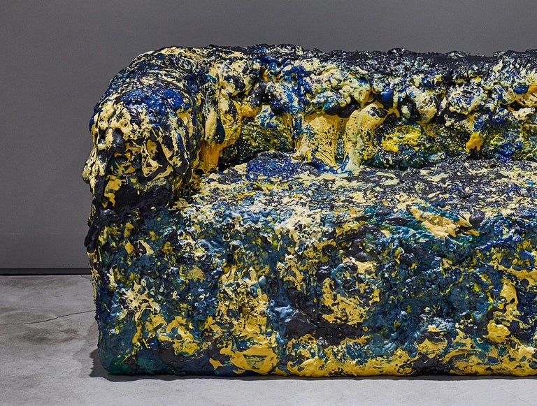 Memory Foam Sofa by Sang Hoon Kim In Excellent Condition For Sale In New York, NY