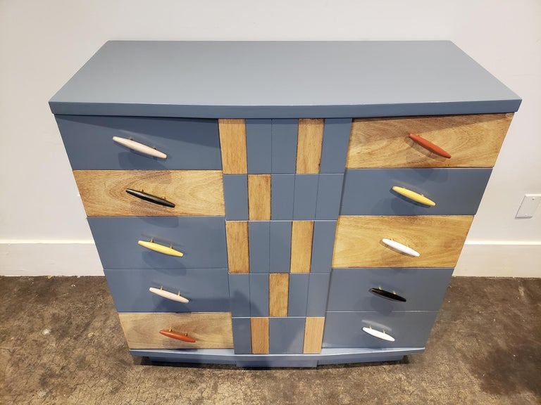 American Memphis Group Style Kent Coffey Chest For Sale