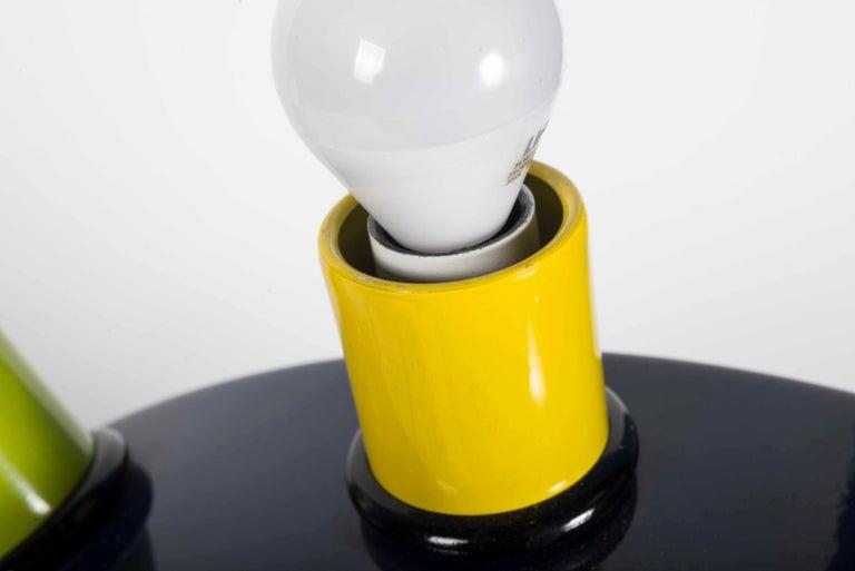 "Memphis Martine Bedin Table Lamp, Italy, circa 1981 ""Super Lamp"" For Sale 3"