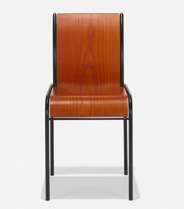 Mid-Century Modern Memphis Milano Kim Chairs by Michele De Lucchi For Sale