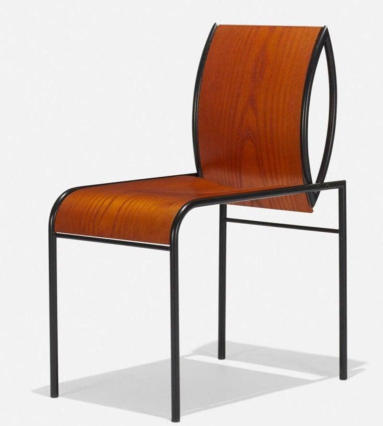 Italian Memphis Milano Kim Chairs by Michele De Lucchi For Sale