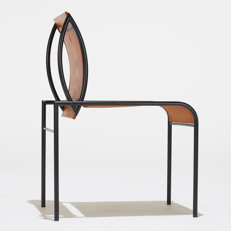 20th Century Memphis Milano Kim Chairs by Michele De Lucchi For Sale