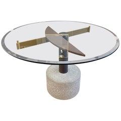 Memphis Style Italian Gueridon Table
