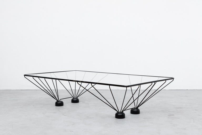 Post-Modern Memphis Style Paolo Piva Inspired Rectangle Coffee Table