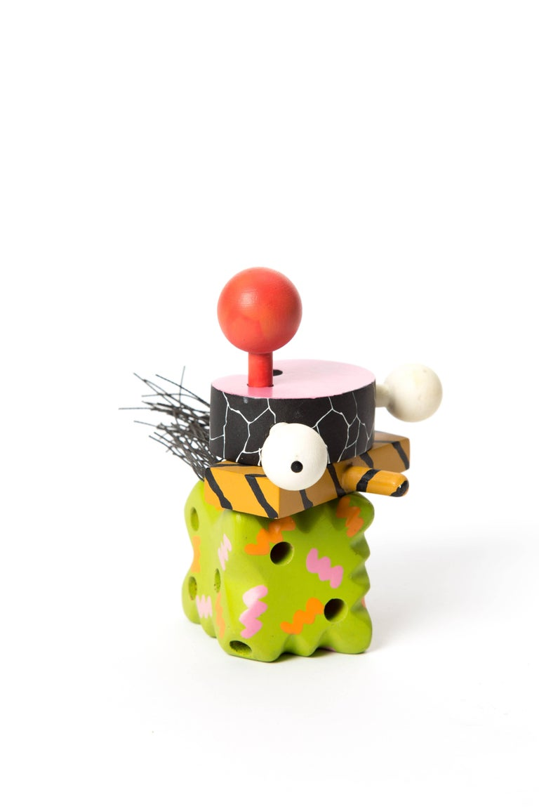 Memphis Zolo Wooden Toys Designed by Byron Glaser and Sandra Higashi for MOMA For Sale 5
