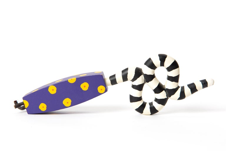 Memphis Zolo Wooden Toys Designed by Byron Glaser and Sandra Higashi for MOMA For Sale 9