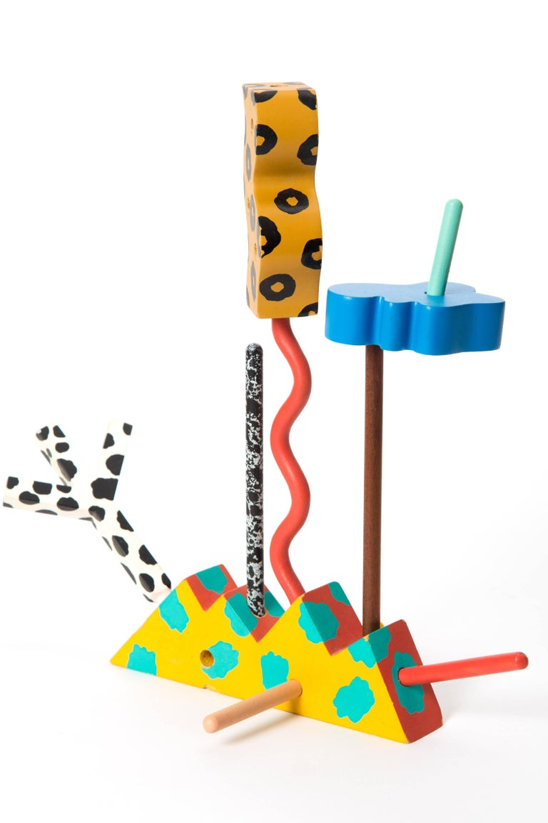 Memphis Zolo Wooden Toys Designed by Byron Glaser and Sandra Higashi for MOMA For Sale 10