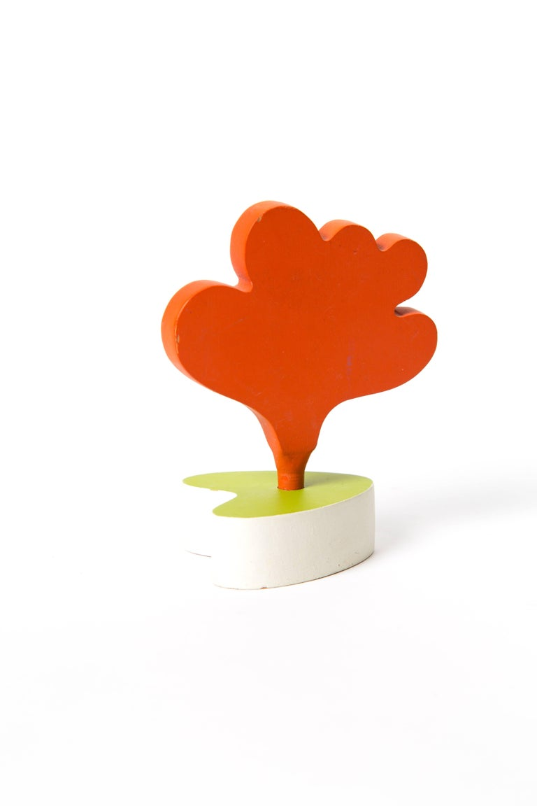 Post-Modern Memphis Zolo Wooden Toys Designed by Byron Glaser and Sandra Higashi for MOMA For Sale