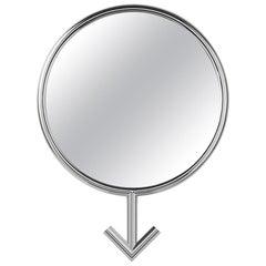 Men Mirror in Chrome Finish or Gold Finish