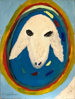Sheep's Head by Menashe Kadishman