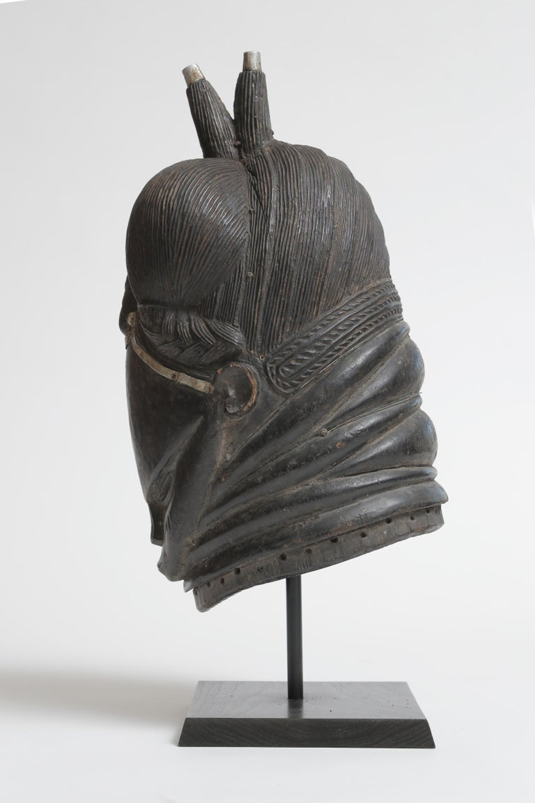 20th Century Mende Helmut Mask For Sale