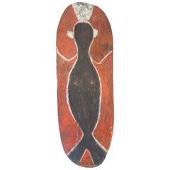 Mendi Shield painted shield Papua New Guinea