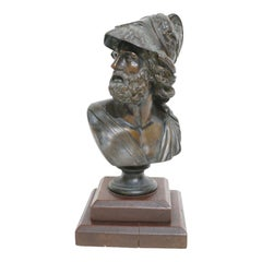 """""""Menelaeus"""" Grand Tour Bronze Sculpture"""