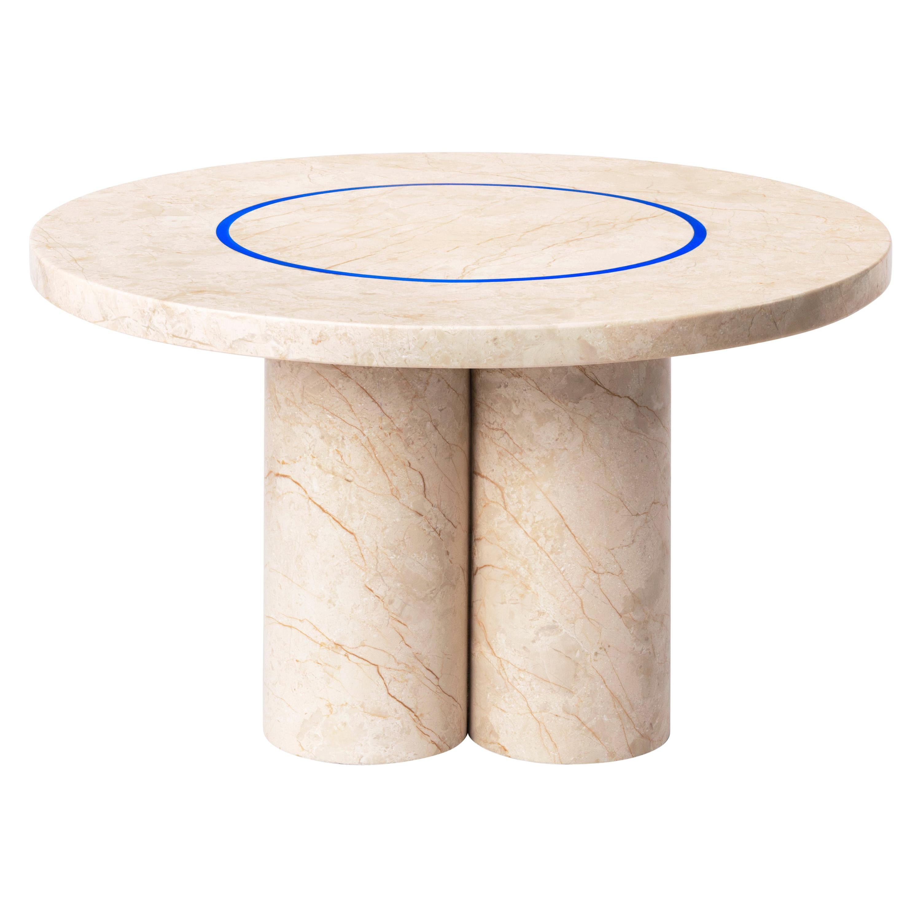 Menes Gold Marble Coffee Table from Dislocation by Studio Buzao