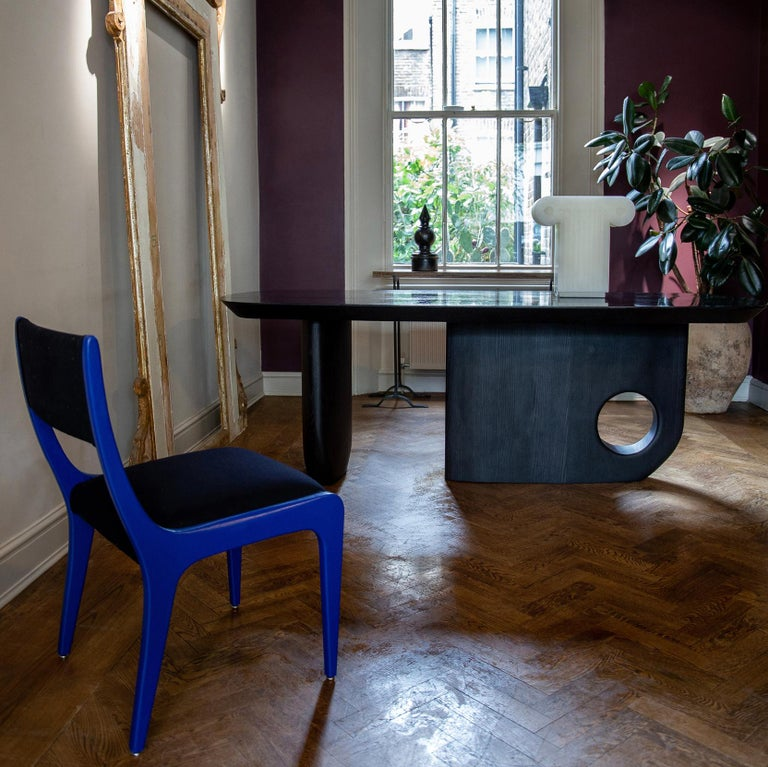 Contemporary Hand finished - Menhir Sculptural Dining Table Designed by Toad Gallery London For Sale