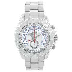 Men's 18 Karat White Gold Rolex Yacht-Master II Regatta Watch 116689
