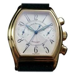 Men's 18K Gold Girard-Perregaux Ref.2750 Automatic Chronograph, c.2000s LV770BLK