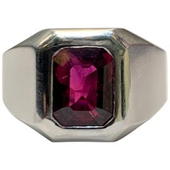 Men's AGL Certified Ruby Ring