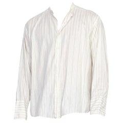 Mens Antique Edwardian 1920's Shirt 17, 35, XL
