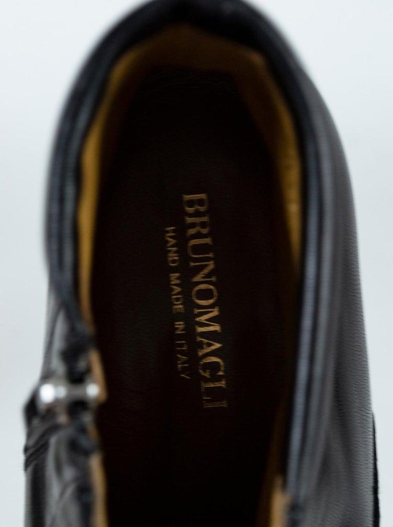 Men's Bruno Magli Raspino Leather Chelsea Boot, 21st Century For Sale 6