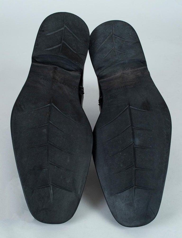 Men's Bruno Magli Raspino Leather Chelsea Boot, 21st Century For Sale 7