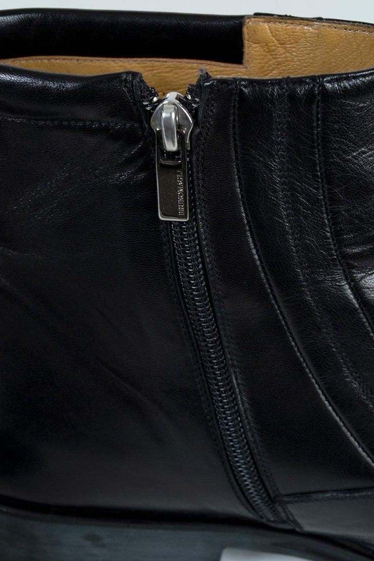 Men's Men's Bruno Magli Raspino Leather Chelsea Boot, 21st Century For Sale
