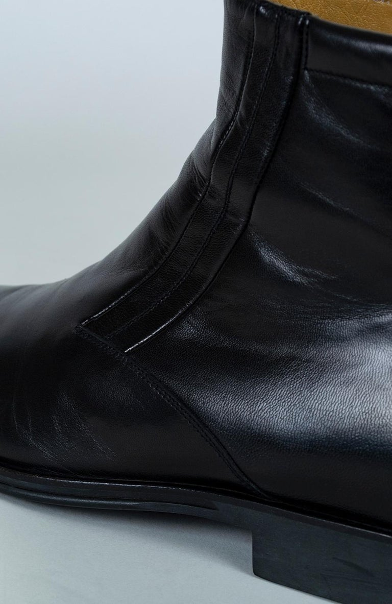 Men's Bruno Magli Raspino Leather Chelsea Boot, 21st Century For Sale 1