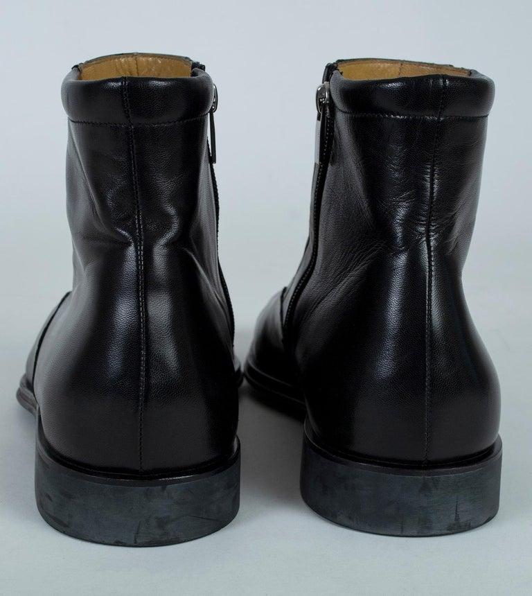 Men's Bruno Magli Raspino Leather Chelsea Boot, 21st Century For Sale 3